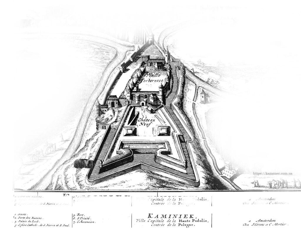 Новый замок Каменец-Подольский